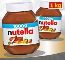 Nutella  für alle !!! 1 Kg =4 € , bei (Hunde) Netto !