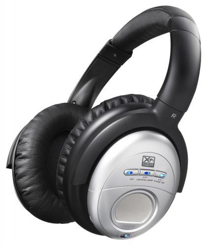 Creative Aurvana X-Fi Headphones schwarz/ silber inkl.Vsk für 88,15 € @ [AMAZON.UK]