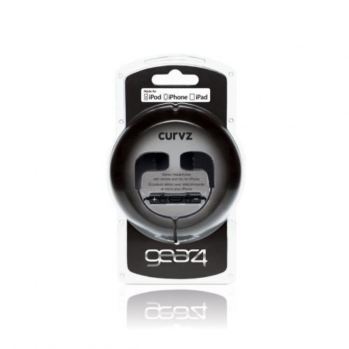 Gear4 CURVZi In Ear Kopfhörer Schwarz für 28€ @Amazon.co.uk