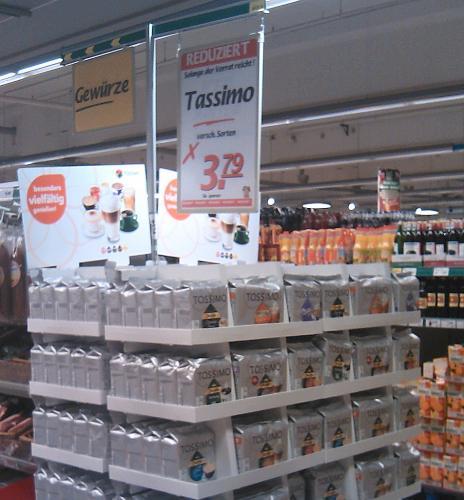 [Marktkauf Bünde] TASSIMO T-Discs, alle Sorten - 3,79€