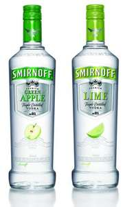 Smirnoff Vodka Standard, Lime, Green Apple 0,7L 37,5% @ Metro Dortmund