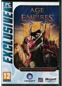 Age of Empires 3 Complete kein CD KEY @ Ebay.de 18,79€