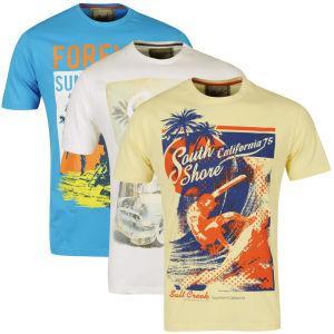 (UK) 3er Set T-Shirts für 15.16€ @ Zavvi