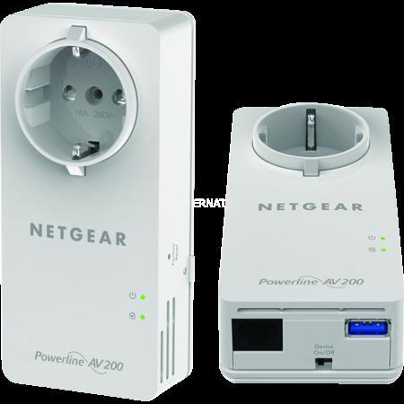 Netgear Powerline Musik Stream Box Bundle mit Air Play Funktion für 59,90€ @ ZackZack