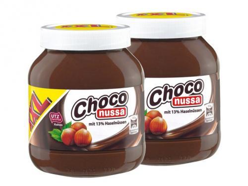 [bundesweit, Lidl XXL Woche] Fake-Nutella 750g für 1,59€