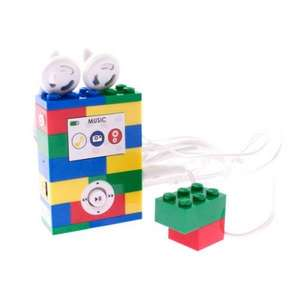 LEGO® LGMP3G2 - MP3-Player 2GB bunte Bausteine für 23€ @Getgoods