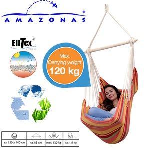 Amazonas Hängesessel - Relax Sunrise  für 19,95€ zzgl. 5,95€ Versand @iBOOD