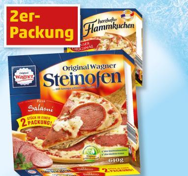 [Penny] WAGNER Steinofenpizza oder Flammkuchen 2er-Pack
