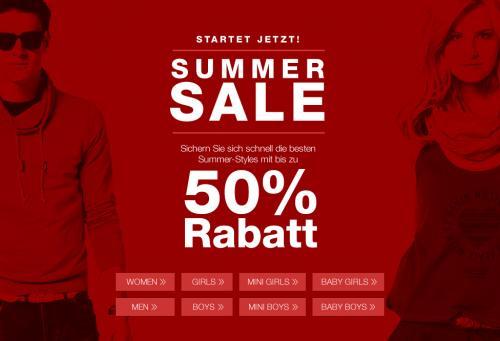 Summer Sale Start bei Tom Tailor bis 50%