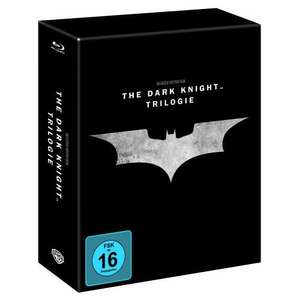 (Amazon) Batman The Dark Knight Steelbook Edition Trilogie für 44,97€