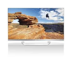 LG 47LM649S 119 cm (47 Zoll) Cinema 3D LED Plus Backlight-Fernseher, EEK A+ (Full-HD, 400Hz MCI, DVB-T/C/S2, Smart TV) weiß/silber für 649,99€ @Amazon.de (Idealo ab 746,29€) - fast 100€/15% Ersparnis