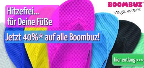 Hot trendige FlipFlop von Boombuz 40% OFF