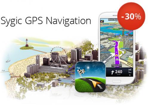 Android-Navigation: Sygic 30% günstiger (lebenslange Updates) | Update: bis zu 55% möglich!!