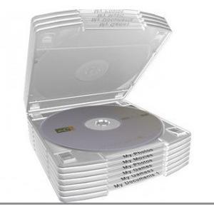 CD/DVD Attachable Case (Box mit 10 Stück) für nur 4,90 Euro statt 10,85 Euro