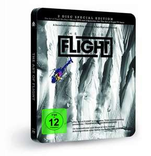 The Art of Flight (Steelbook) (inkl. exklusiver Preview der neuen The Art of Flight TV-Serie) (exklusiv bei Amazon.de) (+ DVD) [Blu-ray] [Special Edition] für 11,99 € Amazon.de