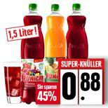 Punica Mehrfruchtsaftgetränke 1,5l für 0,88 € @ Edeka