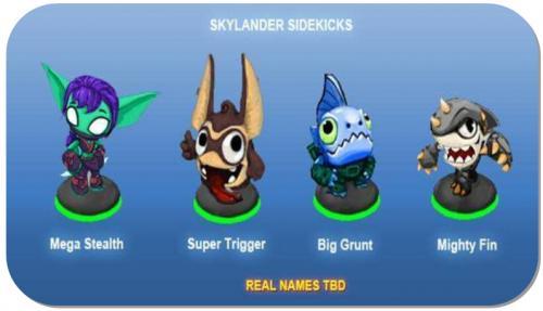 Skylanders Giants ToysRus Juni 2013 Angebote + Sidekicks