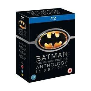 Batman: The Motion Picture Anthology 1989 - 1997 (4 Disc) (Blu-ray) für 16.35 € @ Amazon.de [zoverstocks]