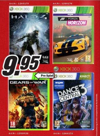 [Lokal Schweiz] Halo 4, Forza Horizon, GoW: Judgment, Dance Central 3 für Xbox 360