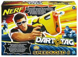 [AMAZON UK] Nerf Dart Tag Speedload 6