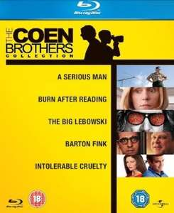 Blu-ray: The Coen Brothers Collection  @Amazon.uk für ca. 12,10 Euro inkl. Versand