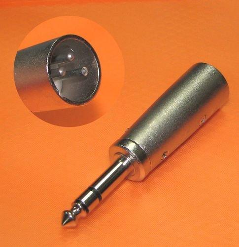 (CN) XLR (Cannon-Stecker) auf Klinke Adapter für 2,04€ @ Ebay
