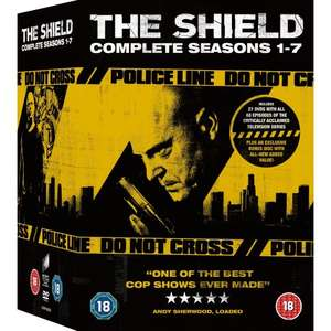 "The Shield Staffel 1-7 [DVD] ""komplette Serie"" [O-Ton] ~38,30 incl. Versand"