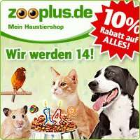 ZooPlus 10% auf Alles! Jetzt auf Vorrat kaufen.