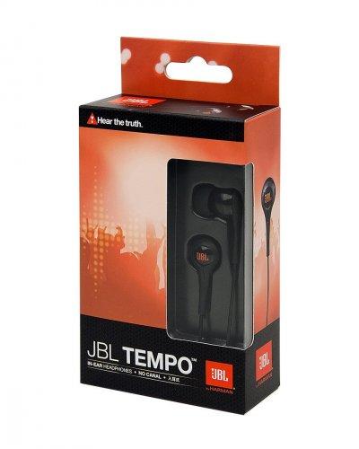 JBL J01B Tempo In-Ear Kopfhörer 9mm schwarz @Amazon Blitzdealz 1h!