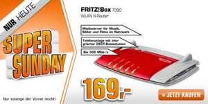 AVM FRITZ!Box 7390  @ Saturn Super Sunday / Amazon.de ab EUR 169,00 (+ 3 % qipu möglich)