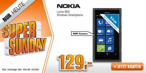 [Saturn Super Sunday] NOKIA Lumia 800 schwarz 16GB