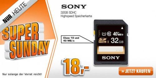 SONY SF 32U Class 10 bis zu 40 MB/s