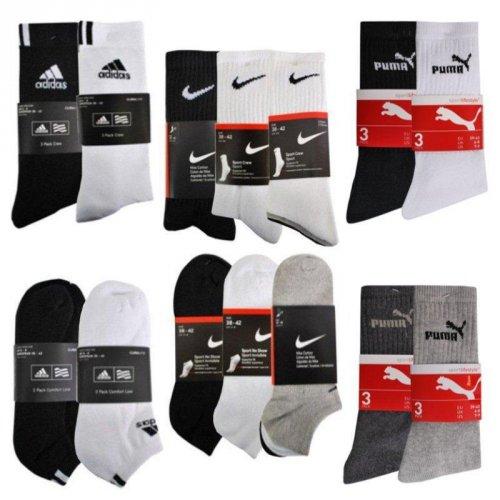 NIKE / PUMA Socken im 9er Pack bei ebay @WOW