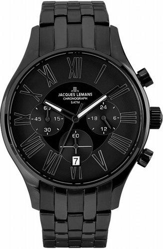 Jacques Lemans Herren-Armbanduhr Chronograph Quarz Classic Capri 1-1605H @Amazon Blitzdealz