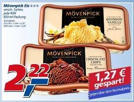 real - Mövenpick Eiscreme 850/900ml, versch. Sorten - 2,22 Euro
