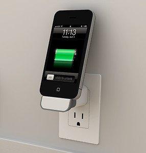 iPhone 5 iDock Wandhalterung @ebay