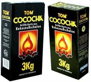 COCOCHA Kokosnusskohle 3kg - TOM COCOCHA