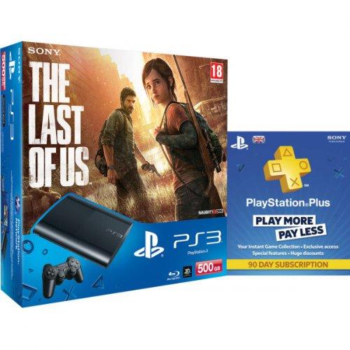 Sony™ - PlayStation 3 Slim 500GB & The Last Of Us & 90 Tage PS+ für €234,40 [@Zavvi.com]