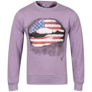 Cinch Men's Pucker Photo Print Crew Neck Sweatshirt für 12,49€ @TheHut
