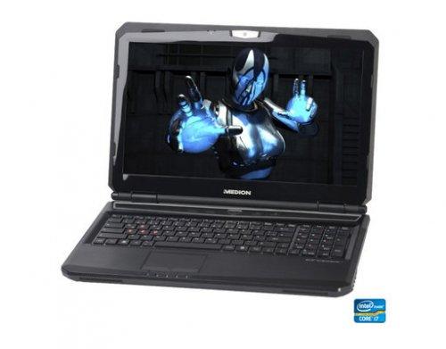 """Medion™ - 15.6"""" Notebook """"Erazer X6819/MD 98018"""" (Core i7-2670QM 4x 2.20GHz, FullHD, 8GB RAM, 750GB HDD, 1.5GB GTX 570M, Blu-ray, USB 3.0, Win 7 64-Bit) ab €679,96 [@MeinPaket.de]"""