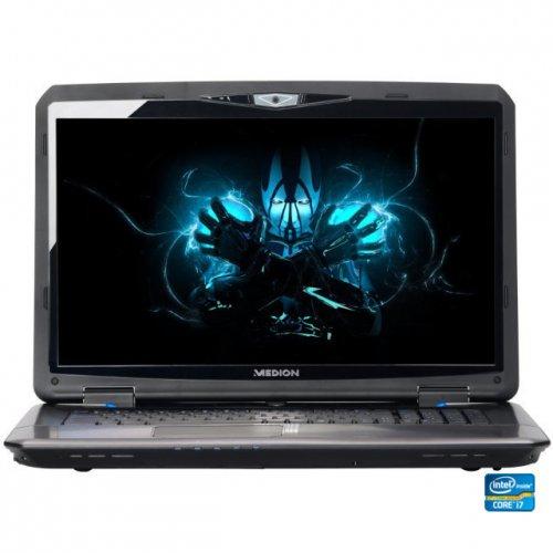 """MEDION X7819 ERAZER Notebook 17,3""""/ 43,9cm Full HD LED i7 2,4GHz 750GB 8GB Win"""