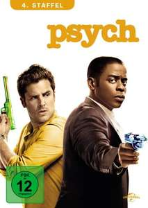 Psych - 4. Staffel [4 DVDs]