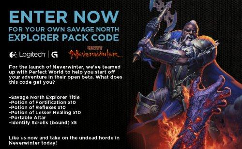 Neverwinter Savage North Explorer Pack