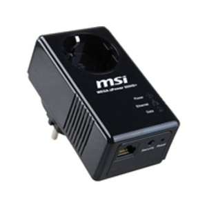 Power LAN MSI ePower 500HD+ Network Single 14,44 € inkl. Versand
