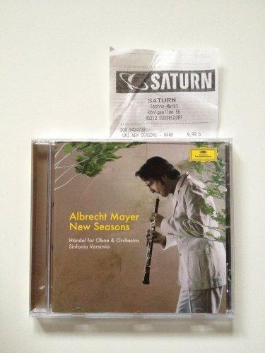 [lokal Düsseldorf] Albrecht Mayer - New Seasons: Händel for Oboe & Orchestra