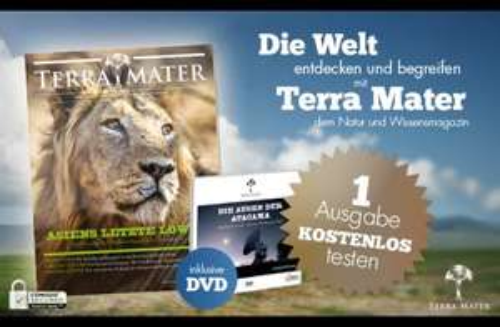 1 Ausgabe ''Terra Mater'' inkl. DVD kostenlos