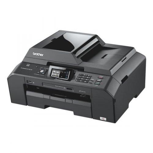 A3 MuFuDrucker mit Fax, WLAN .:. Brother MFC-J5910DW für 102,96€ mit Originalpatronen