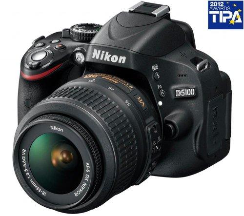 NIKON D5100 + Objektiv AF-S VR DX 18-55mm