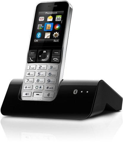 Philips S9A/38 Digitales Schnurlostelefon (MobileLink, HQ-Sound, ECO Modus) schwarz/silber @Amazon Blitzdealz
