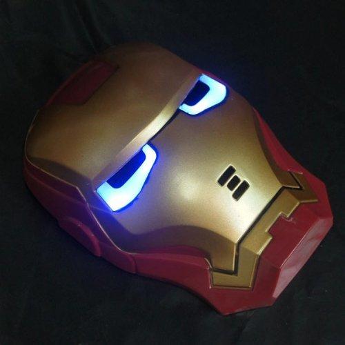 (CN) Iron Man Maske mit LED-beleuchteten Augen für 3,46€ @ Ebay